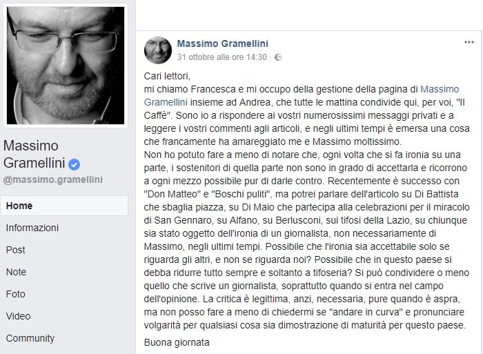 un'autentica finzione caso studio di Massimo Gramellini